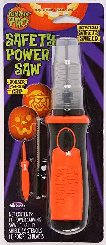 OKSLO Pumkin Pro Pumpkin Safety Saw Pumpkin Accessory Black 2 in. W x 10-7/8 in. L -