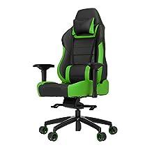 Vertagear P-Line PL6000 Racing Series Gaming Chair - Black/Green (Rev. 2)