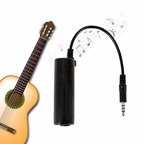pter, Alotm Generic Guitar Interface Adapter for iPhone / iPad / iPod iOS Devices, Connect Electric Guitar and Bass (Chargers Fender Purse)