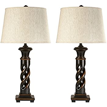 style number by vintage tabby glass lamp item table signature lamps products ashley design
