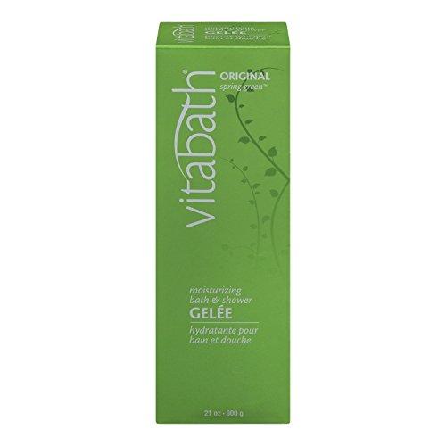 Vitabath hydratant Bath Gelee, Original Spring Green - 21 oz