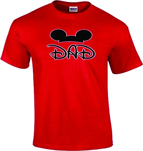 Mom, Dad, Son, Daughter, Big/Little Brother/Sister Family funny Matching T-Shirts! (L Adult, Dad)