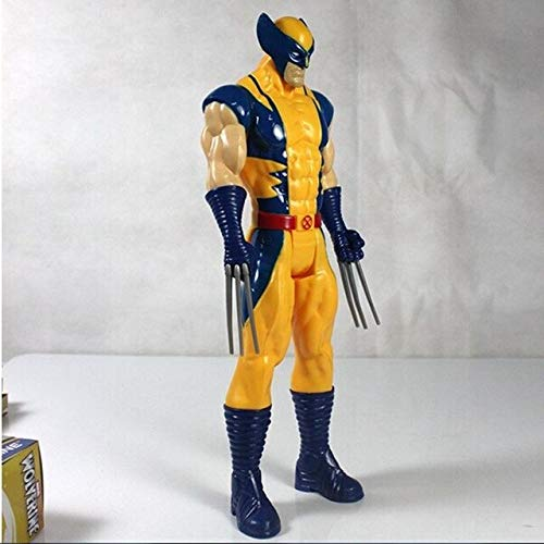 VIET FG Comics Hero Series 30Cm X-Men Wolverine PVC Action Figure Model Dolls Toys Super Hero Wolverine Kids Toys Birthday Gift -Complete Series Merchandise -
