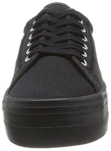 Sneaker Nero Noname noir black Donna black Plato fox BfFqp