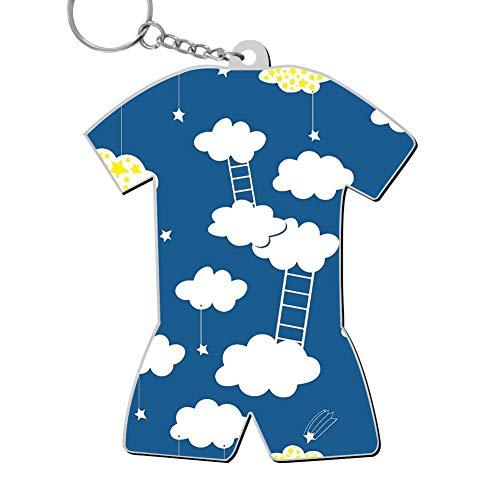 okkeyring Zinc Alloy Car Business Key Chain,Print Climbing Ladder,Best Gift for Friends Boys Girls