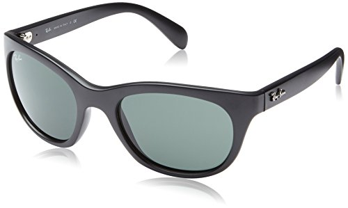 Ray-Ban Womens Sunglasses (RB4216) Black/Green Plastic - Non-Polarized - - Ray Sunglasses Cats Ban