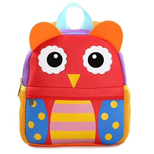 Sac Animal d'école Maternelle Bag Xuniu Owl Piggy à 3D Dos pour Sac Cartoon pxdTSq