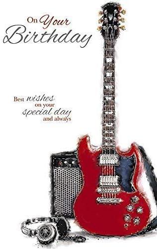 Wishing Well estudios tarjeta de felicitación – Guitarra ...