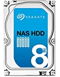Seagate NAS HDD - 8 TB - interne Festplatte, ST8000VN0002 (3,5 Zoll), 5900rpm, 256 MB Cache, SATA III für NAS-Betrieb