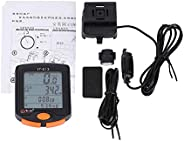 Bike Computer, Outdoor Cycling Waterproof Bike Odometer Multifunction Riding Bicycle Computer(Wired)