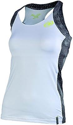 Bull padel Bouza - Camiseta sin Mangas para Mujer, Color Blanco ...