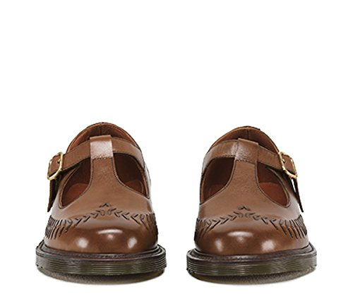 Dr. Martens Mary Janes Pour Femme Marron Hazelnut Antiqued Calf