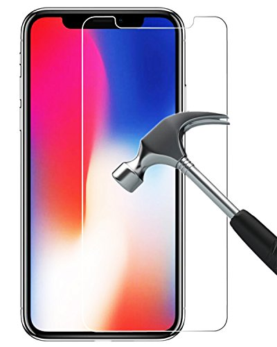 Speira (2 Pack) Screen Protector for iPhone X [Force Touch Compatible] [Tempered Glass] [Bubble Free] [HD Transparent Shield]