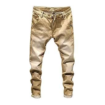 Imagen no disponible. Imagen no disponible del. Color  ZODOF Pantalones  Hombre,Pantalones de Hombre Casuales Deporte Joggers Pants Algodón ... e23b6594b39b