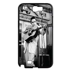 Johnny Cash Design Cheap Custom Hard Case Cover for Samsung Galaxy Note 2 N7100, Johnny Cash Galaxy Note 2 N7100 Case