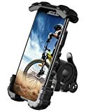 "Bike Phone Holder, Motocycle Phone Mount - Lamicall Motocycle Handlebar Cell Phone Clamp, Scooter Phone Clip for iPhone 12 / iPhone 11 Pro/ iPhone 11 Pro Max, S9, S10 and More 4.7"" - 6.8"" Smartphones"