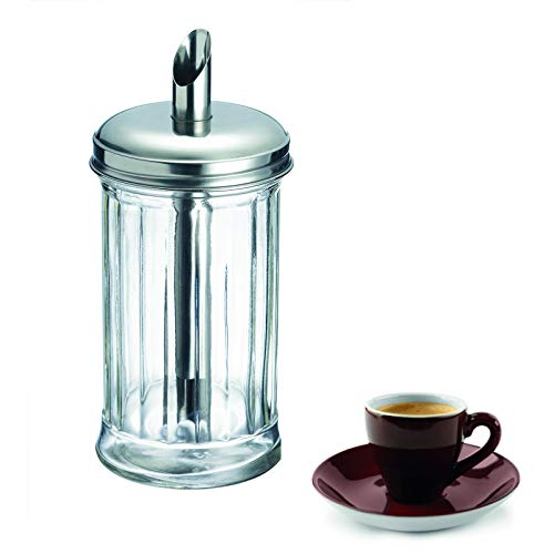(Westmark Germany 'New York' Glass Sugar Dispenser, Stainless Steel)