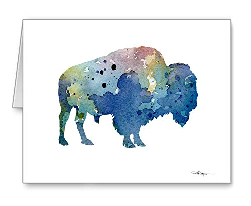 (Buffalo - Set of 10 Note Cards With Envelopes)