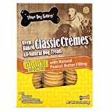 Three Dog Bakery Classic Creme Golden With Peanut Butter Filling, Baked Dog Treats, 16-Ounce Review