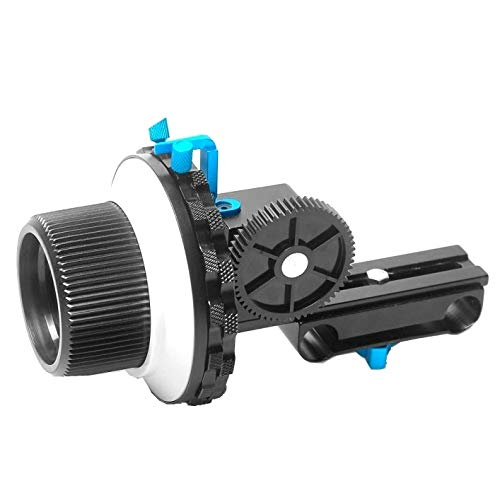 Guangheyuan YLG0103C F3 Limit Follow Focus with Adjustable Gear Ring Belt Compatible Canon/Nikon/Video Cameras/DSLR Cameras,