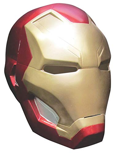Rubie's Men's Captain America: Civil War Iron Man 2-Piece Mask, Multi, One -