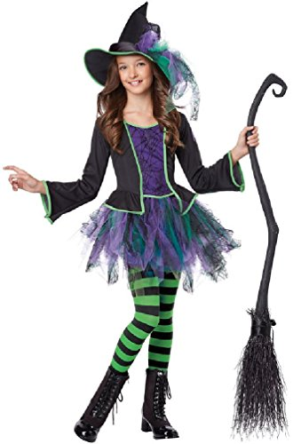 [8eighteen Festive Witch Magical Child Costume] (Girls Festive Witch Costumes)
