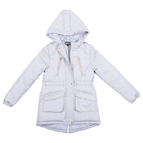 39752dh-modernsilver-10-12-girls-padded-jacket-zip-up-coat-hood-high-low
