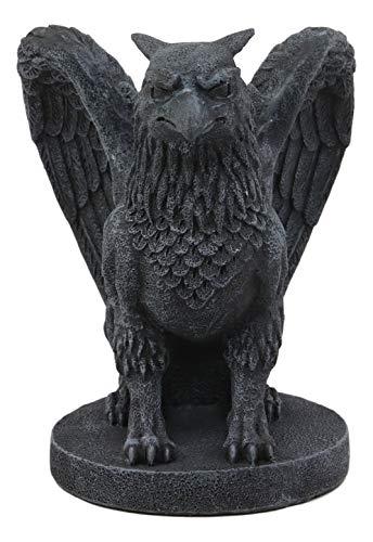 Ebros Mythical Winged Griffon Griffin Eagle Lion Gargoyle Statue Home Decor Figurine 6.75
