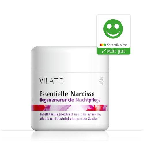 Vilate Narcisse glättende Nachtcreme - Für die Haut ab 30, wirkt sofort gegen die ersten und zweiten Fältchen