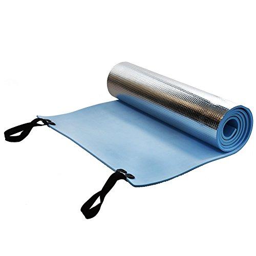 INLAR - Alfombrilla de Yoga, para Acampada, Espuma EVA, con Respaldo de Espuma, colchón Ligero, portátil, se enrolla para...