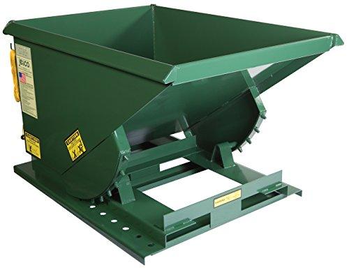 Vestil Self-Dump Heavy Duty Hopper 1/2 Cu Yd 4K (Hopper Bin Heavy Duty)