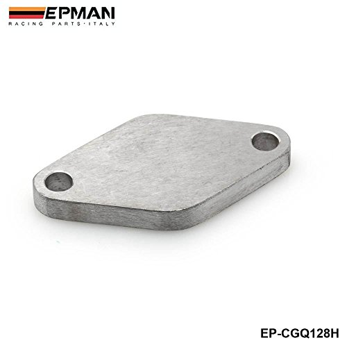 EPMAN Stainless Steel 304 35MM|38MM Turbo Wastegate Blockoff Plate Block Off For Honda Acura All