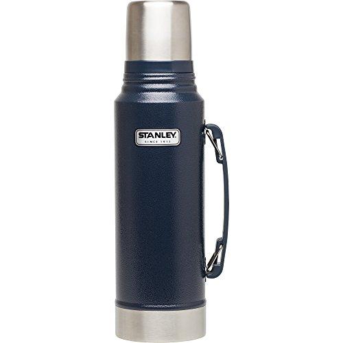 Stanley 10-01254-036 Classic Vacuum Bottle, Hammertone Navy, (Stanley Vacuum Thermos)