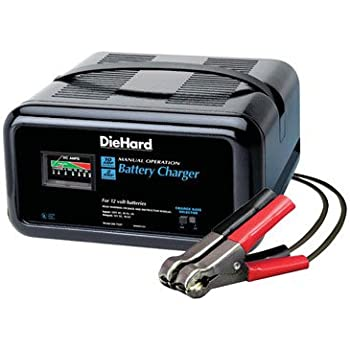 Schumacher Battery Charger Manual >> Amazon.com: DieHard 10 amp Manual Battery Charger: Automotive