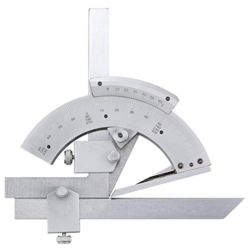 Adjustable Combination Angle Tool,Farway 0-320 Degree Precision Angle Measuring Finder Universal Bevel Protractor Tool