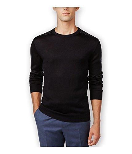 (Ryan Seacrest Mens Pullover Casual Crewneck Sweater Navy M)