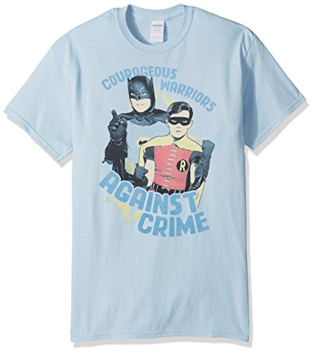Trevco Batman Classic Tv Courageous Warriors Adult T-Shirt at Gotham City Store