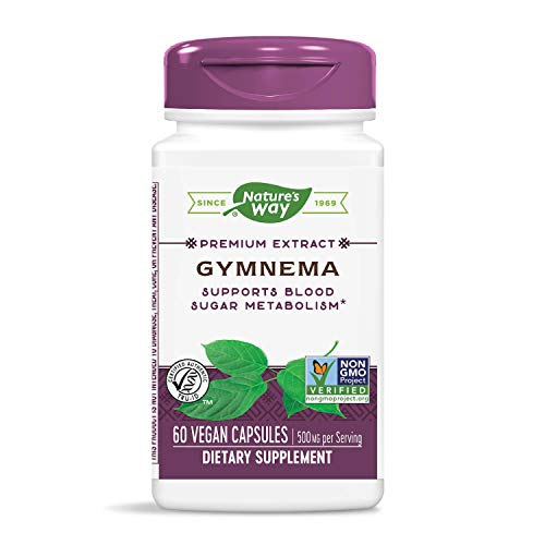 Nature's Way Gymnema Capsules, 500 mg, 60 Count ()
