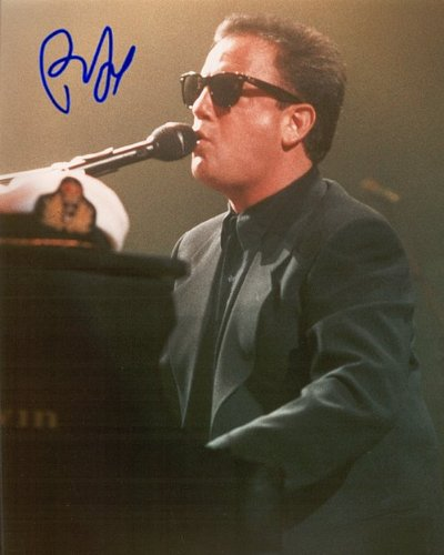 Billy Joel Autographed Preprint Signed Photo -