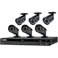 Lorex HDIP86W 8 Channel Security NVR system with 2K resolution IP cameras featuring Color Night Vision