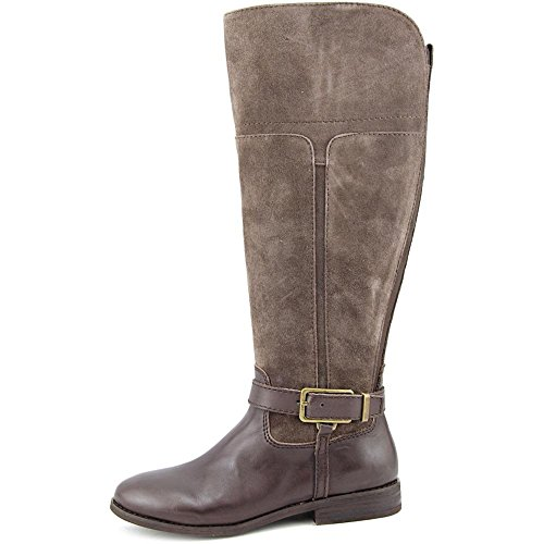 Marc Fisher Womens Aysha Leather Round Toe Knee High Riding Boots Brown Multi y127hhciJ
