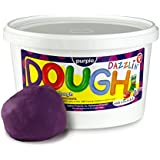 Hygloss 48305 Products Kids Unscented Dazzlin Modeling Play Dough, Purple, One, 3 lb.