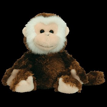 Amazon.com  Ty Beanie Babies Hoodwink - monkey  Toys   Games 8c9793b5218a