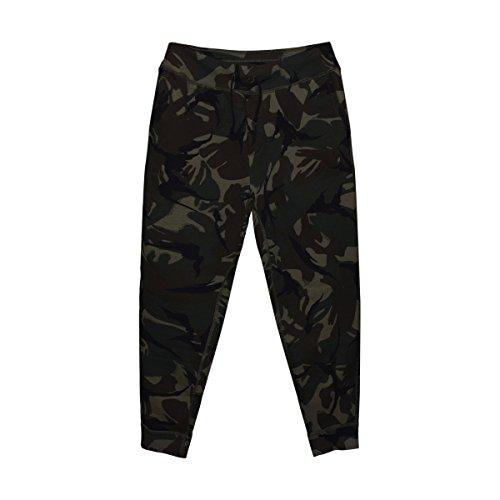 Ralph Lauren Polo Mens Camouflage Joggers Fleece Sweatpants Green (Large) (Lauren Mens Ralph Fleece)