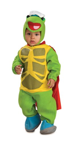 Wonder Pets Bunting And Headpiece Costume Turtle Tuck, Tuck Print, 6-12 Months
