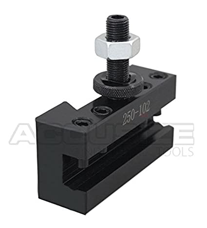 Style 2 Turning and Facing Tool Holder for Mini Lathe and 1//2 Tools 0250-0002 Accusize Industrial Tools Oxa Boring
