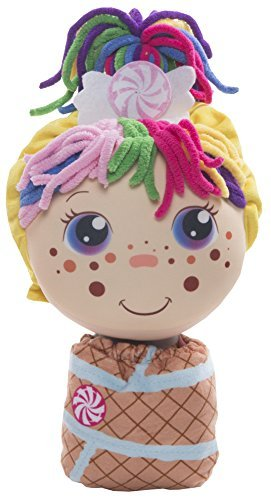 Flip Zee Girls (Zandy Candy) 2-in-1 Plush Doll by Jay at Play  Perfect Holiday Gift  Soft & Squeezable Toy Instantly Switches from 12in Baby to 18in Big Girl Surprise