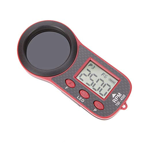 Exiron Original SkyRC Optical Tachometer RC Model OPT-010 RPM Tester 700-4500 for Helicopters Fixed-Wing Airplanes - Wing Airplane Parts