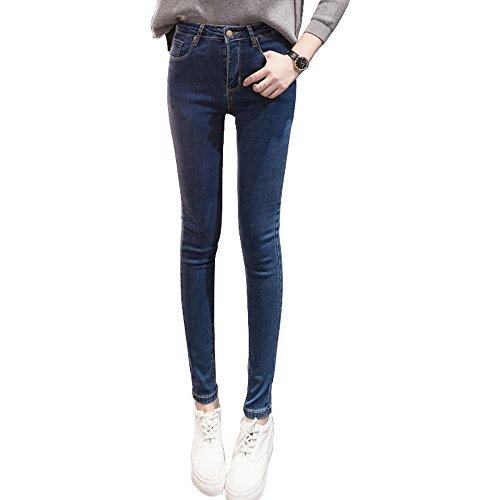 369 Store Skinny Vaqueros Deep Para E Mujer Blue 7awqxdq5