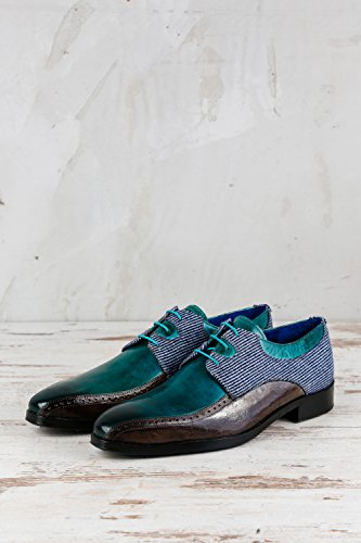Chaussures 1121 de Homme MH15 pour Melvin amp; Turquoise Lacets Ville Türkis Hamilton à IqwB1ZxgR